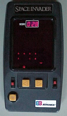The original handheld Space Invader game
