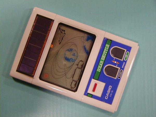 Casio Solar Shuttle (1982, LCD, Solar power, Model# CG-10)