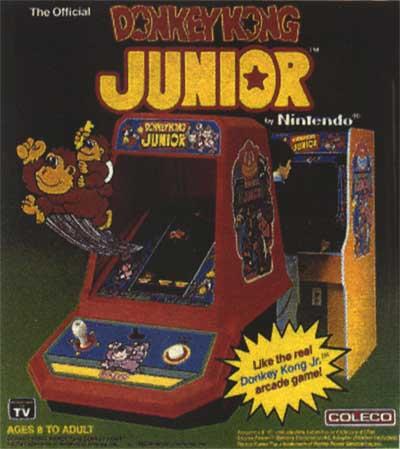 Donkey Kong Jr Arcade Game