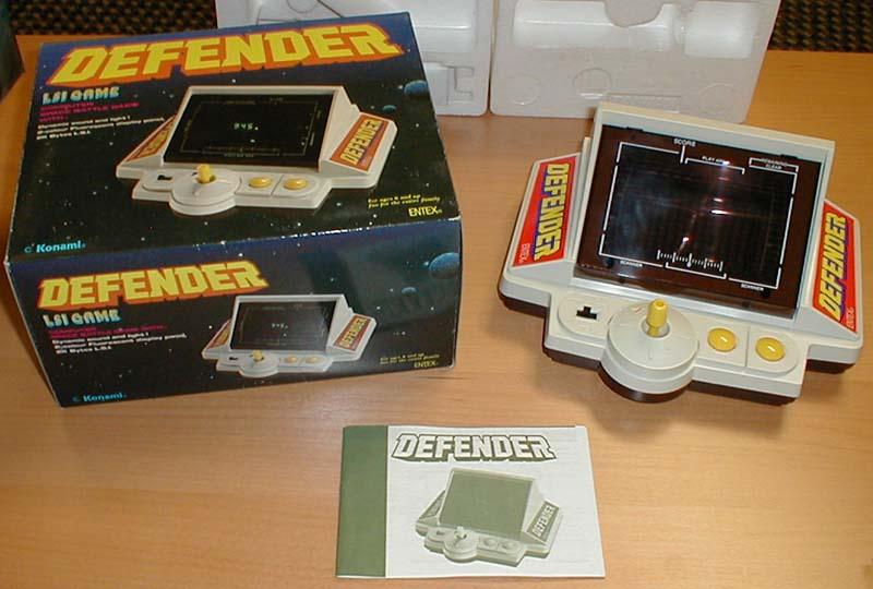 ¿Todavía conserváis el sistema que os inició en los videojuegos?  Entex-DefenderDiff
