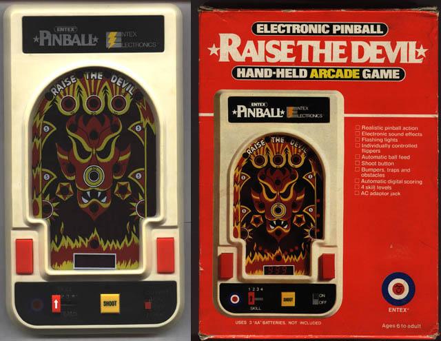 handheld pinball machine