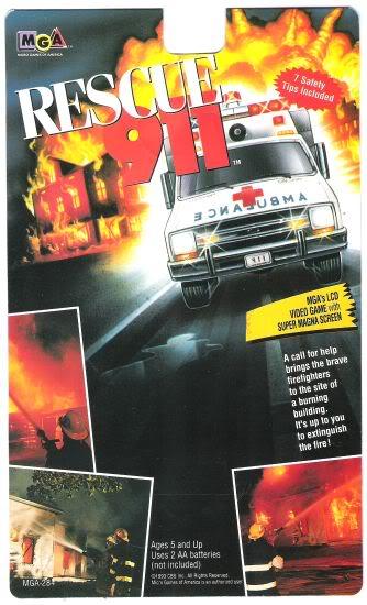 MGA Rescue 911