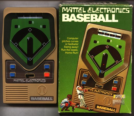 Vintage Video Games: Hand-Held video games