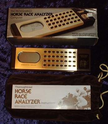 mattel horse race analyzer manual