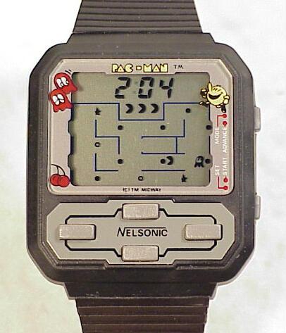 Nelsonic Pac-Man Wristwatch