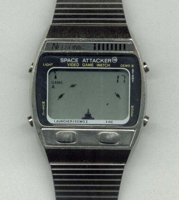 Space Attackers Watch