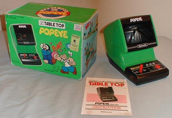 In Out Board >> Nintendo Popeye