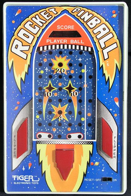 U Batteries Tiger Rocket Pinball