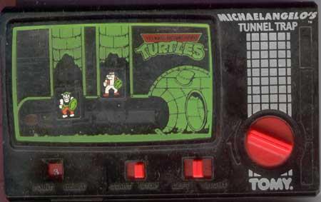 Tomy TMNT Pocket Arcade Games